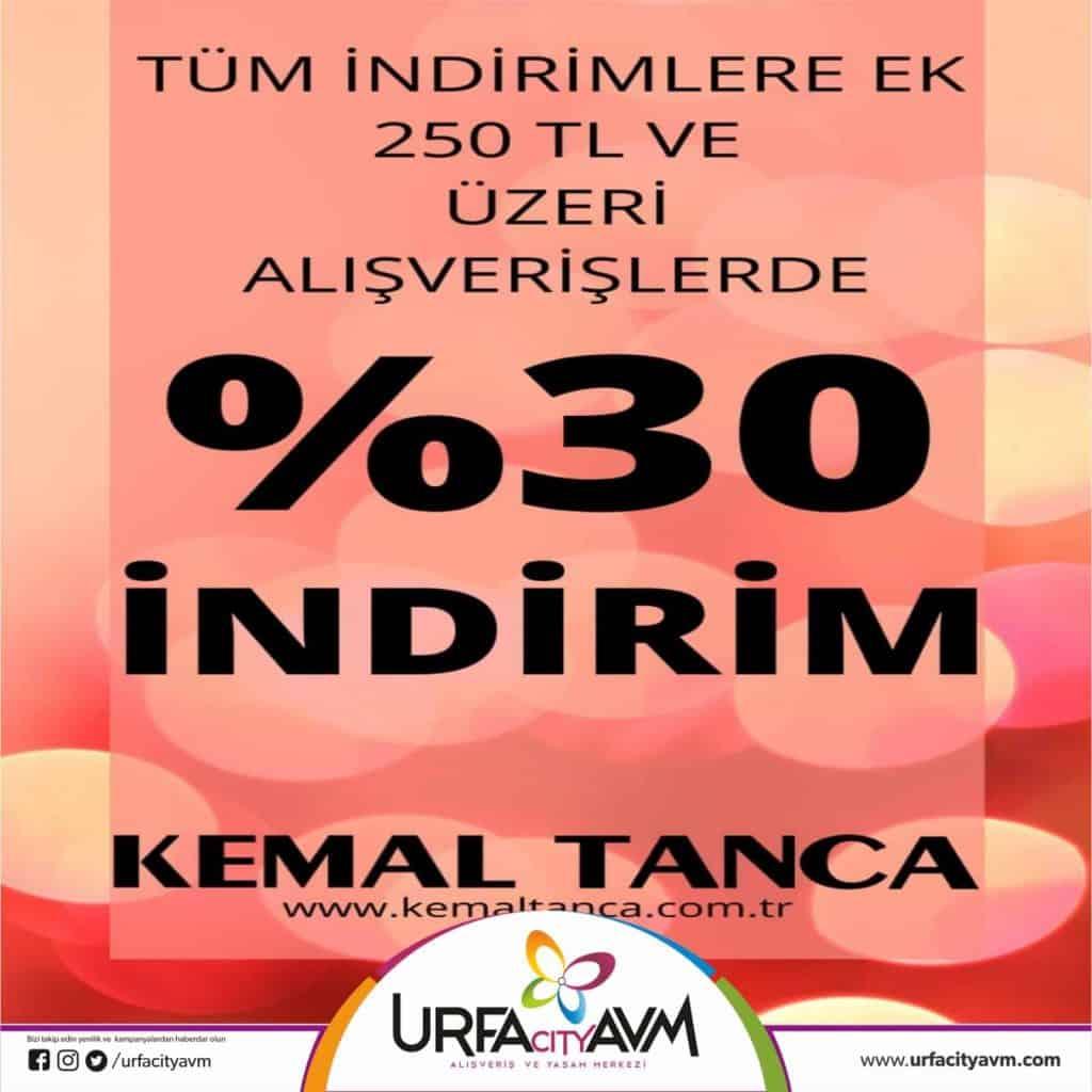 KEMAL TANCA kampanya